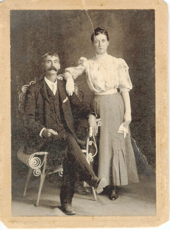 WOODRUFF Couple, late 1800s